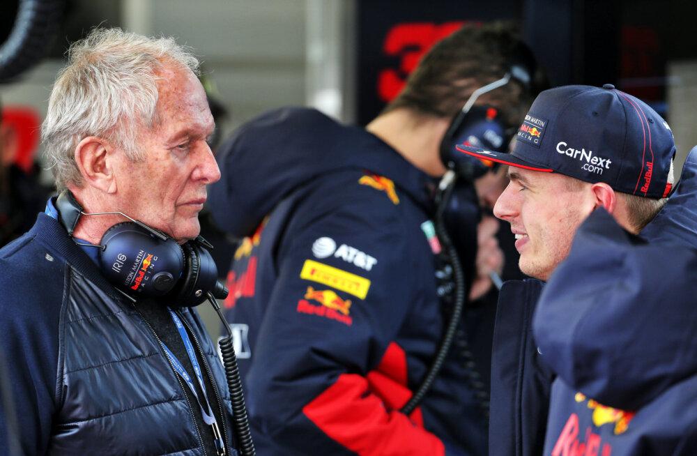 Helmut Marko: Verstappen kardab koroonaviirust, aga minu arust oleks parim, kui ta praegu sellesse nakatuks