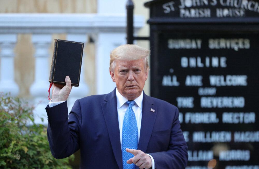 Trump kiikab ka rahutuste ajal sügiseste valimiste suunas