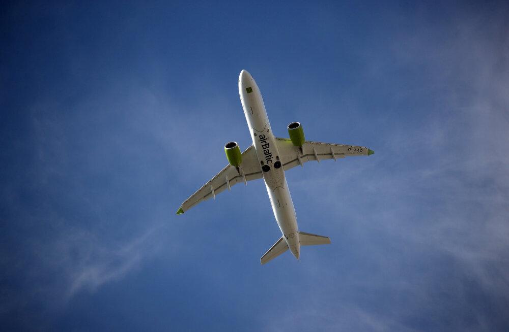 Air Baltic pakub Riiast reisi ei kuhugi: restoranitoitu süües tehakse tiir Kuramaa kohal