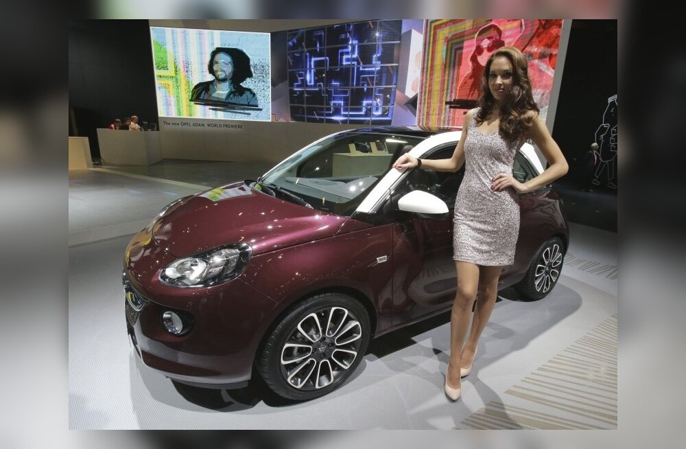 Париж-2012: Компакт-кар Opel Adam будет стоить от 15 600 евро