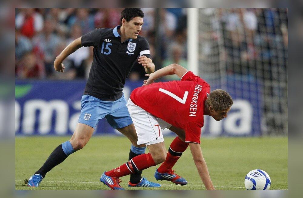 Gareth Barry ja Markus Henriksen, Inglismaa - Norra jalgpall