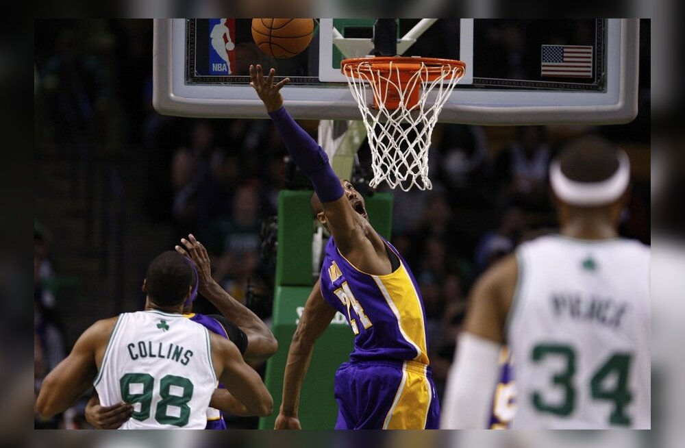 VIDEO: Boston Celtics alistas Los Angeles Lakersi kindlalt