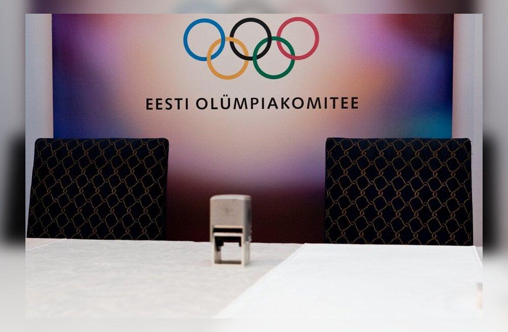Eesti Olümpiakomitee kuulutab välja parimate valimised