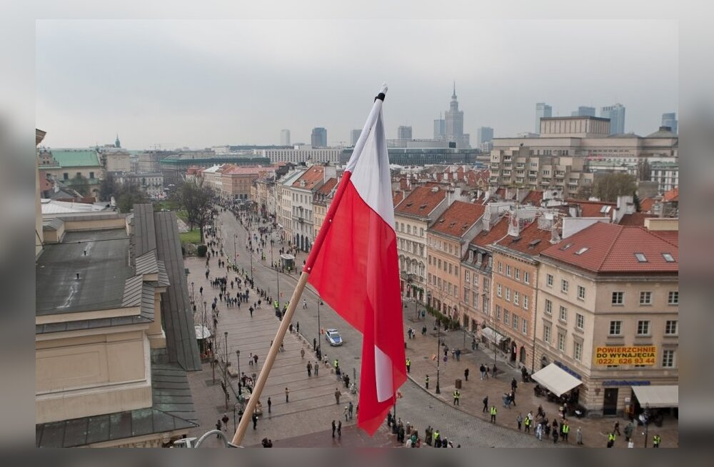 Farewell ceremony for the first lady of Poland