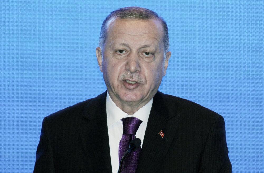 Erdoğan: Venemaa rikub Süüria asjus sõlmitud kokkuleppeid, Türgi on kannatust kaotamas