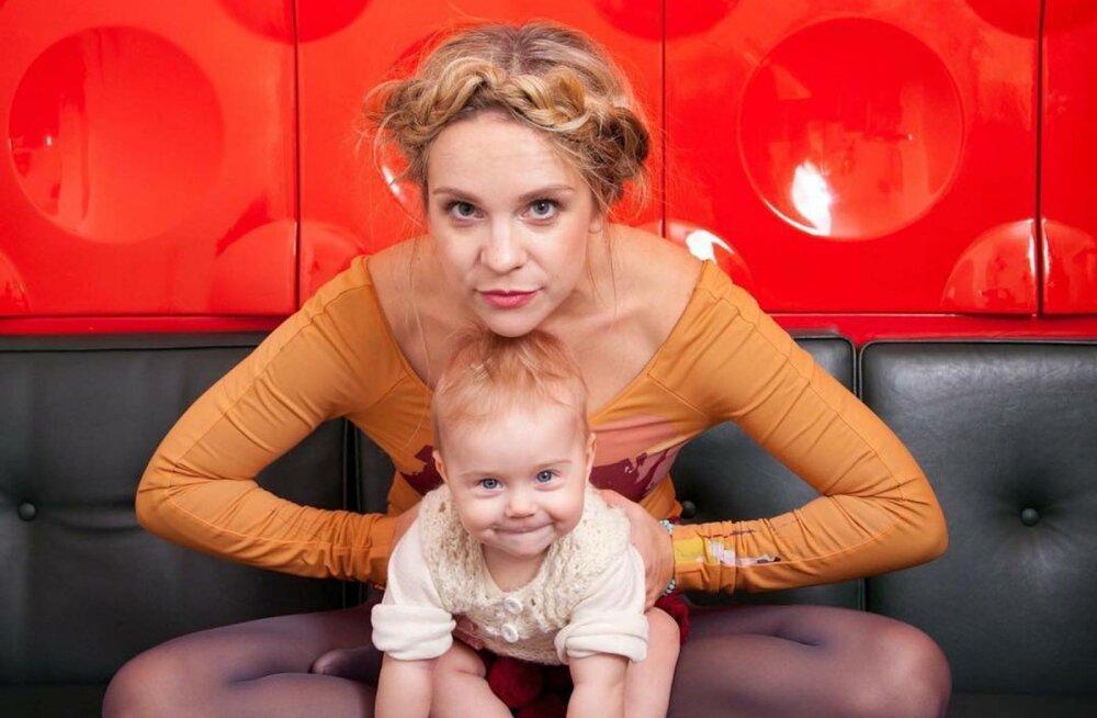 Marilyn Jurman kolib koos perega Eestist pooleks aastaks minema