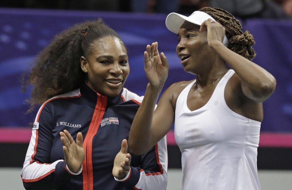 Serena Williams ja Venus Williams