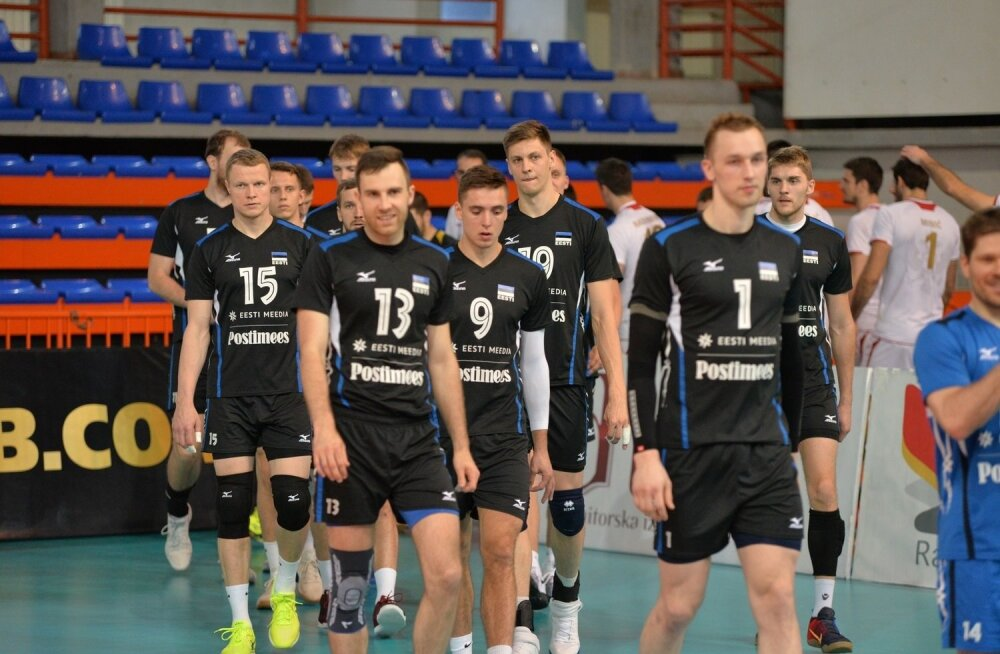 Võrkpalli Maailmaliiga Montenegro - Eesti
