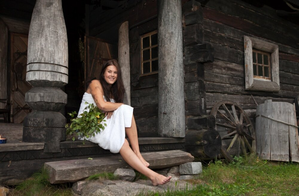 """""""Soomlane leiutas sauna, venelane samovari,"""" kuulutas 1937. aastal Eestis ilmunud piltidega nädalaleht."""