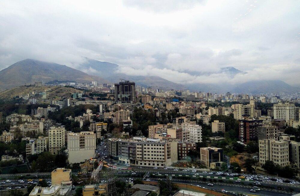 Vaade Põhja-Teheranile.