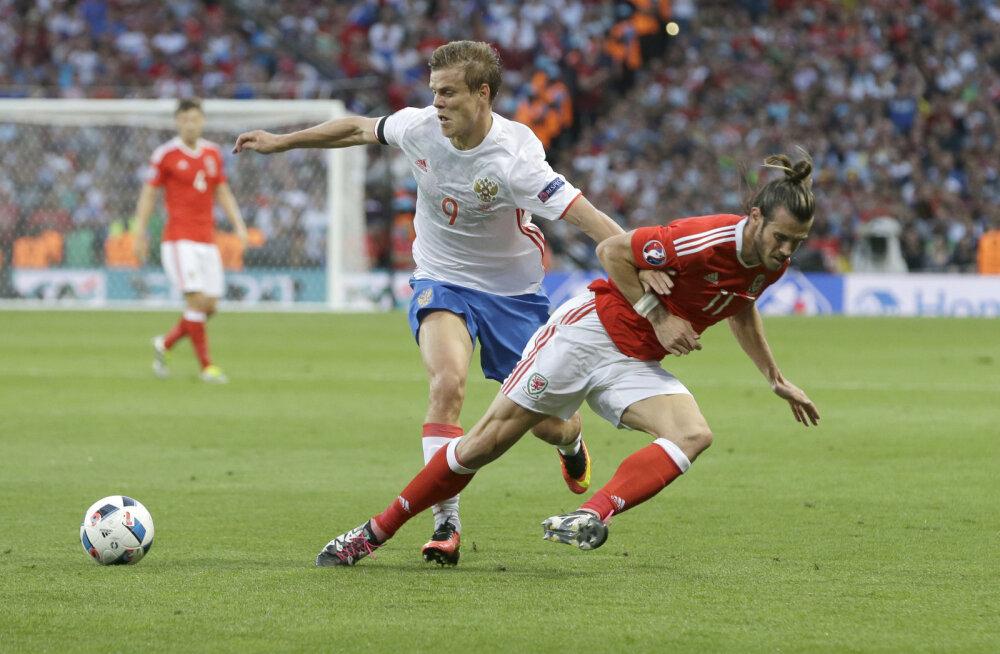 Kokorin (vasakul) ja Bale