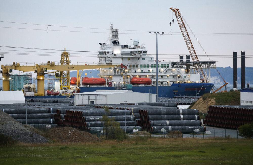 Merkel ei välista Nord Stream 2 vastaseid sanktsioone