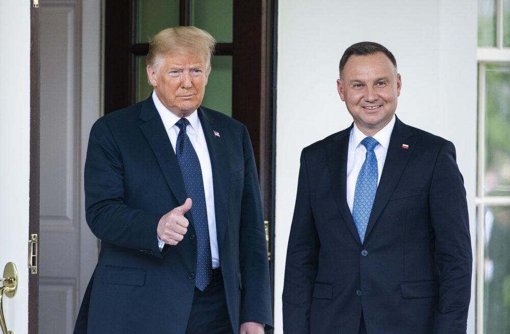 Trump: osa Saksamaalt välja viidavatest USA vägedest läheb Poolasse