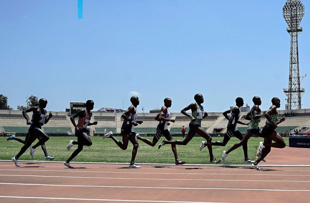 Keenia katsevõistlused Nairobis