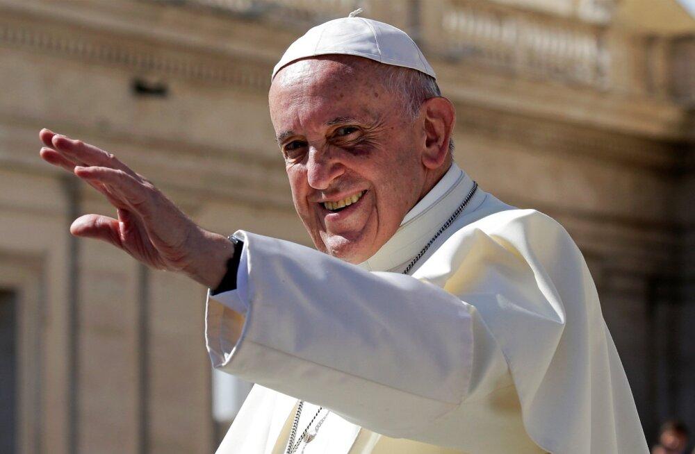 Paavsti visiit Eestisse on kindel: ta tuleb tuleva aasta septembris