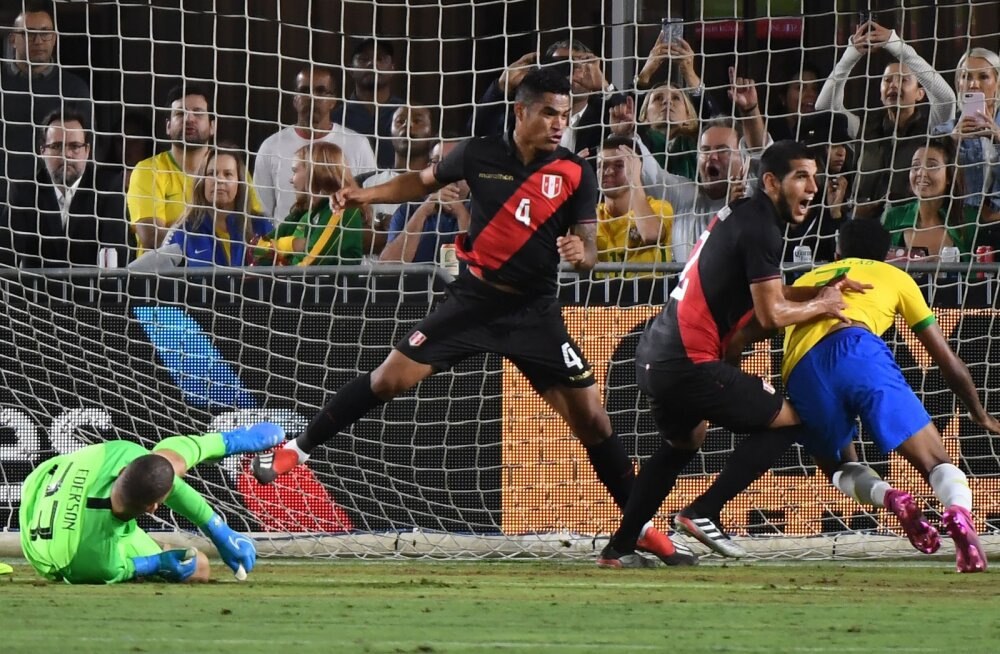 Peruu ja Brasiilia mäng