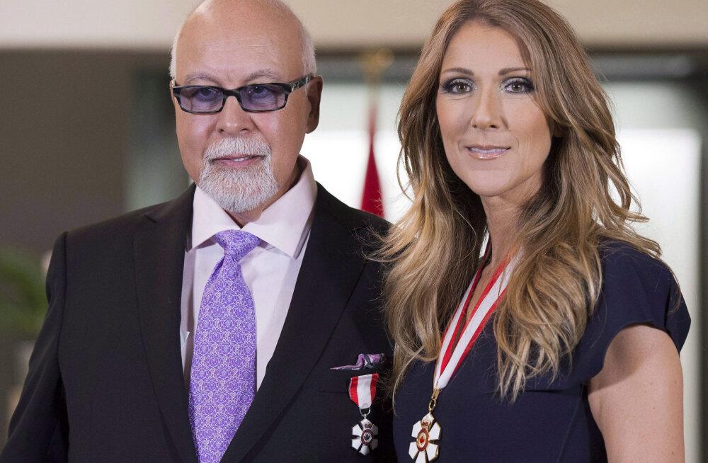 KLÕPS | Celine Dion mälestab armsa pildiga oma lahkunud abikaasat: ma igatsen sind