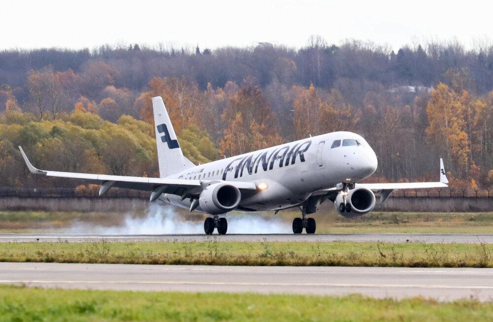 Finnair отменил все сегодняшние рейсы в Хельсинки из Таллинна и Тарту