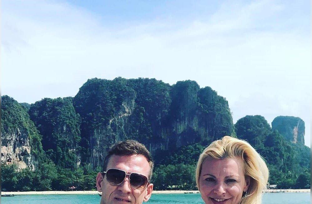 KADEDAKS TEGEVAD FOTOD | Ott Kiivikas veedab oma võrratu naisega eksootilist puhkust