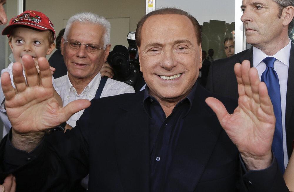 Silvio Berlusconi mõisteti süüdi altkäemaksu andmises