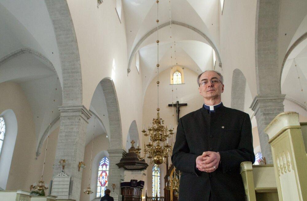 Tallinna Jaani koguduse õpetaja Jaan Tammsalu