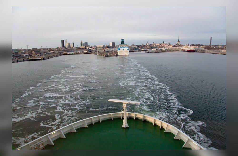 Praegu käib põhiline liiklus Tallinna ja Helsingi vahel merdmööda.