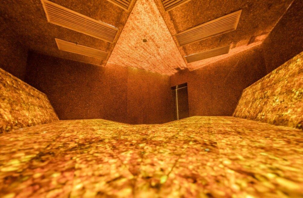 ФОТО: В Литве открылась первая в мире янтарная баня