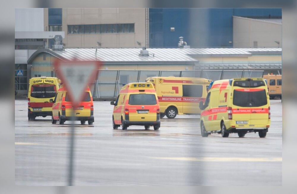 Ukrainast saabusid haavatud