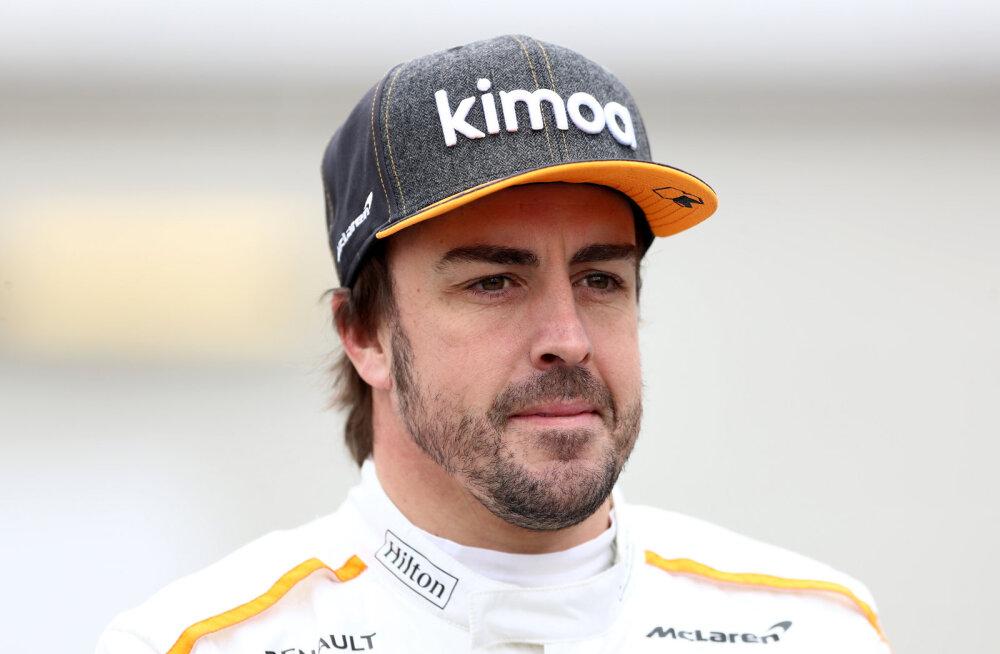 Vormel-1 sarjaga seostatud Fernando Alonso andis vihje tuleviku osas