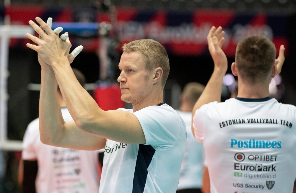 Võrkpalli EM Eesti vs Tšehhi