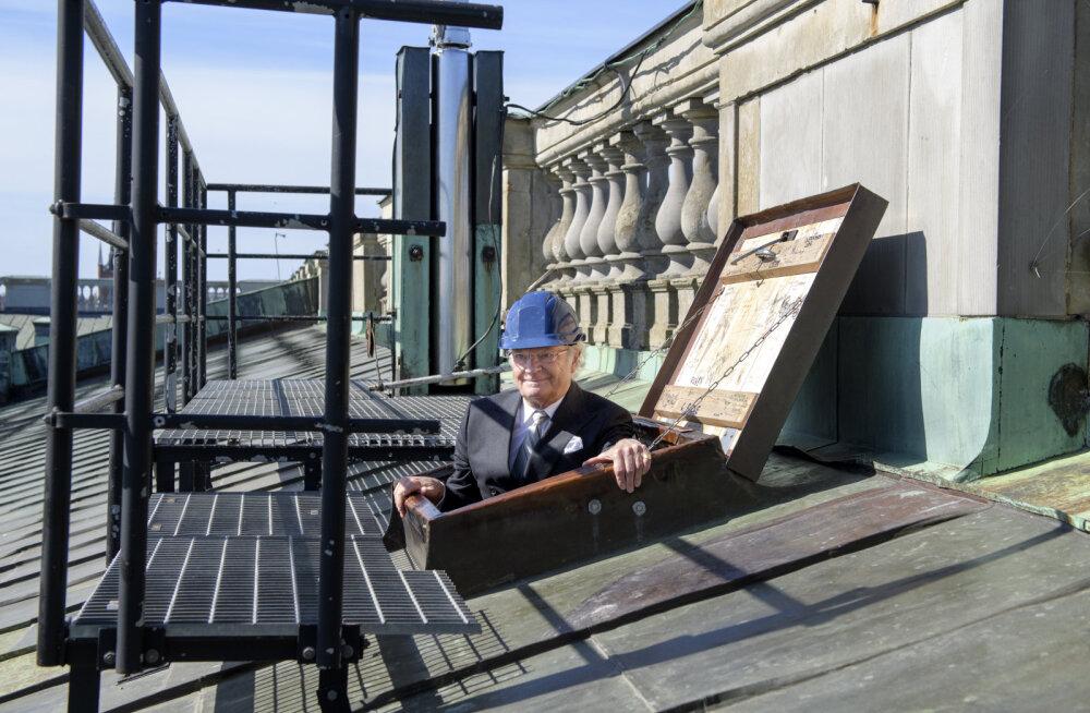 Rootsi kuningas laseb panna palee katusele päikesepaneelid