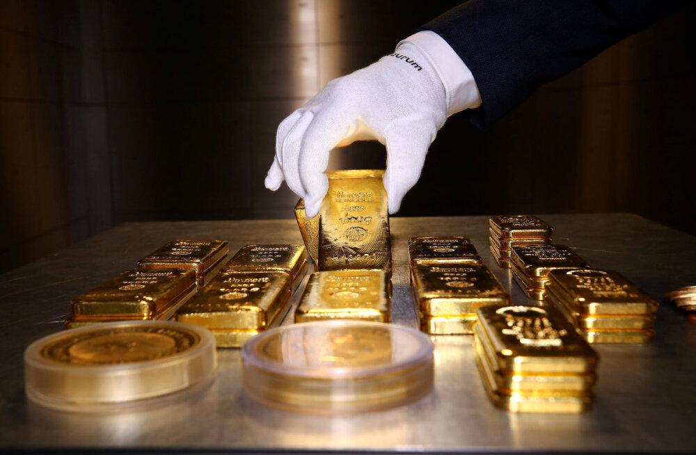 Kulla hind tõuseb viiruse ja USA-Hiina kasvava tüli kartuses