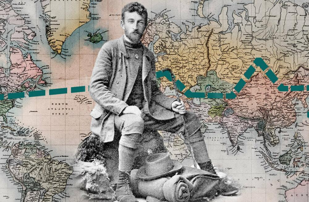 Четыре года в пути. Как рижанин Константин фон Ренгартен первым в истории обошел пешком вокруг света