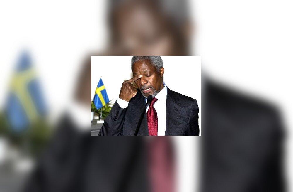 Kofi Annan, ÜRO peasekretär