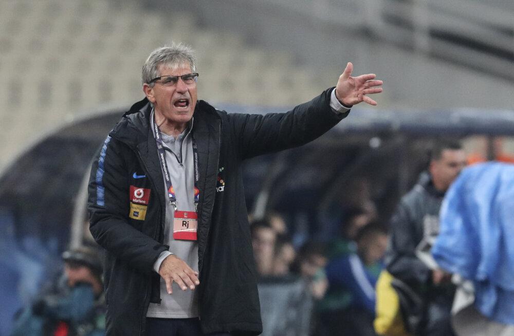 DELFI ATEENAS | Kreeka peatreener: sellisele kaotusele ei saa olla mingeid vabandusi