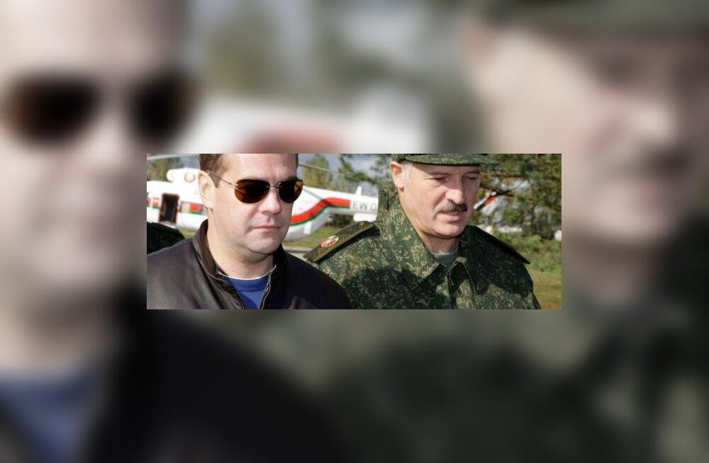 Lukašenka: Medvedevi pressikonverents oli mõttetu