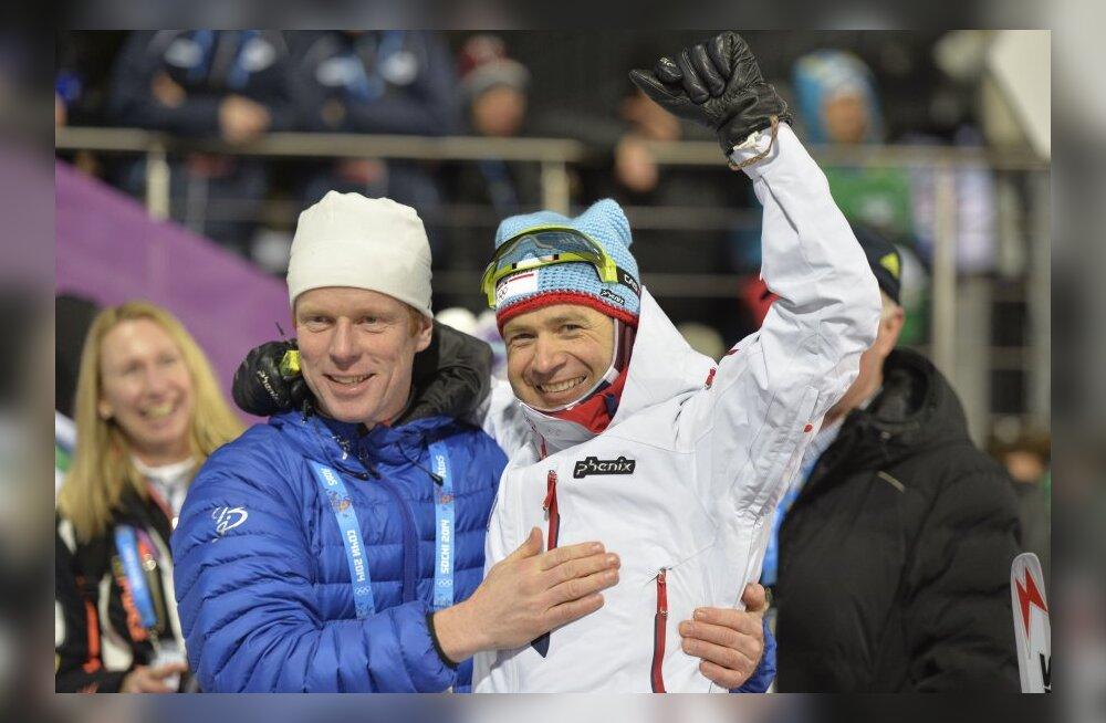 Ole Einar Björndalen ja Björn Daehlie
