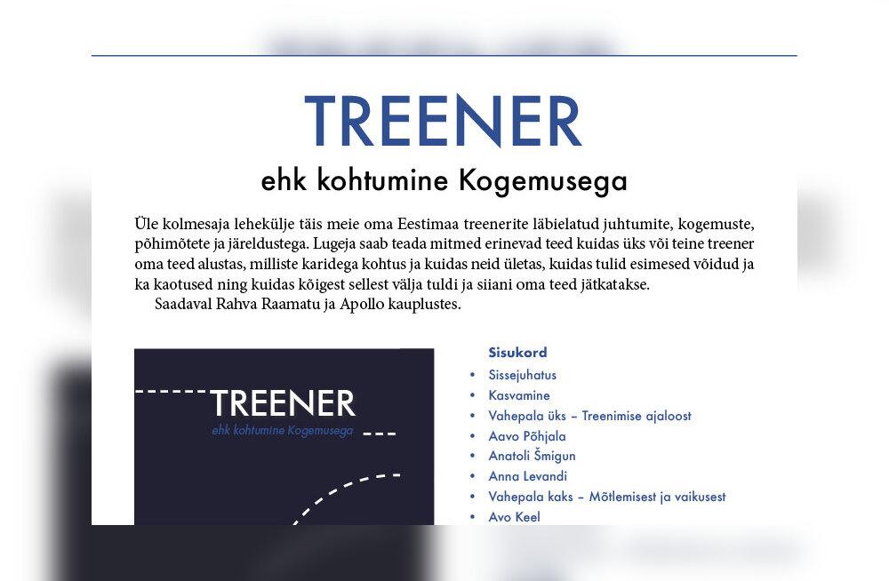 """Kes Eesti tipptreeneritest kasutab haiguse peletamiseks """"elueliksiiri""""?"""