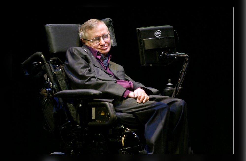 Stephen Hawking toetab abistatud enesetappu: me ei lase ju loomadel kannatada
