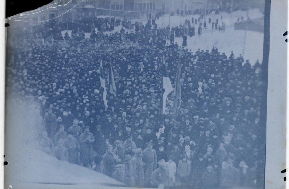 Vabariigi väljakuulutamine, 23.02. 1918
