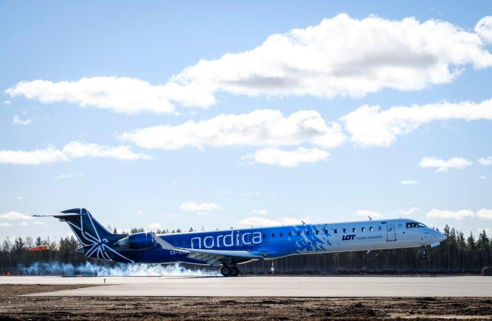 В связи с ремонтом аэропорта в Вильнюсе самолеты из Таллинна временно приземляются в Каунасе
