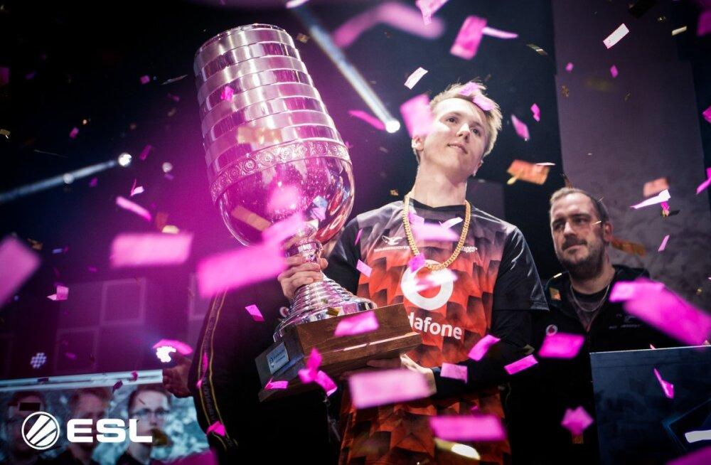 Eesti e-spordi tšempioni tiim võitis turniiri New Yorgis