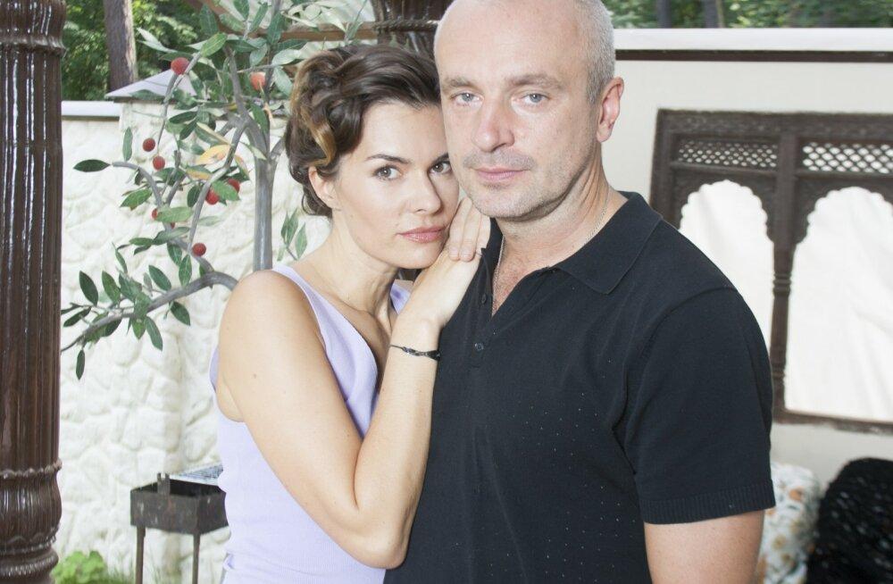 Игорь Шалимов со своей бывшей женой писательницей Оксаной Робски