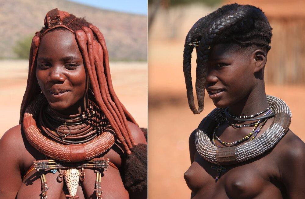 FOTOD: Imelised himba naised