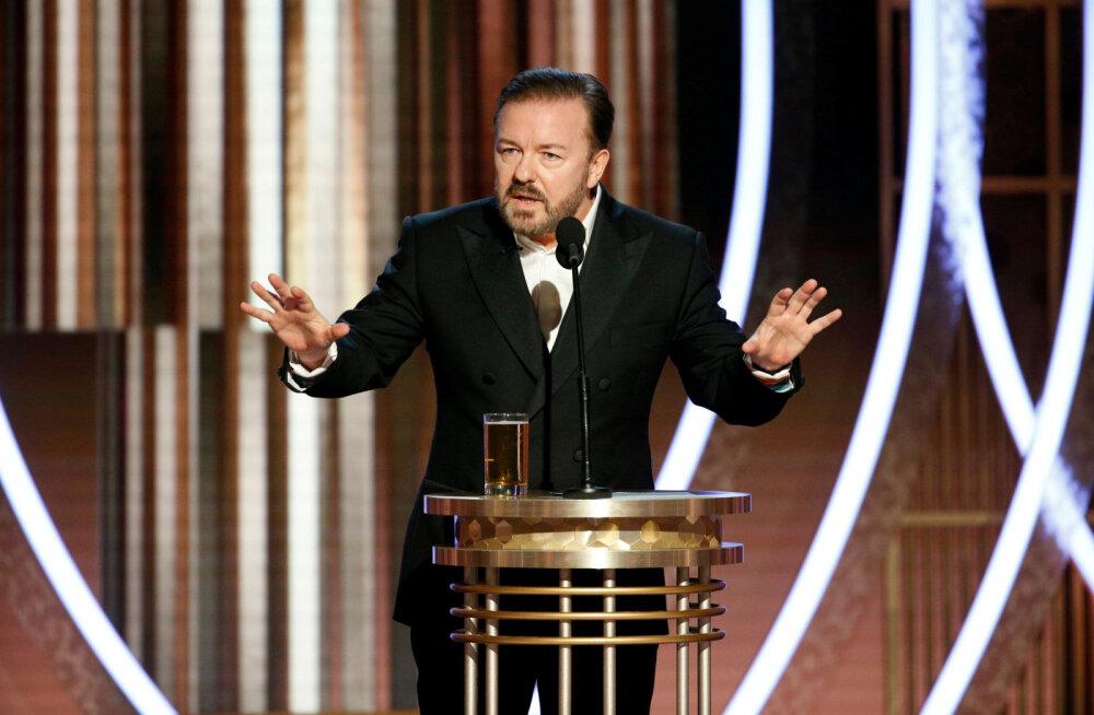 Koomik Ricky Gervais: te ei kuule mind vingumas. Mitte siis, kui medõed teevad 14 tunniseid vahetusi