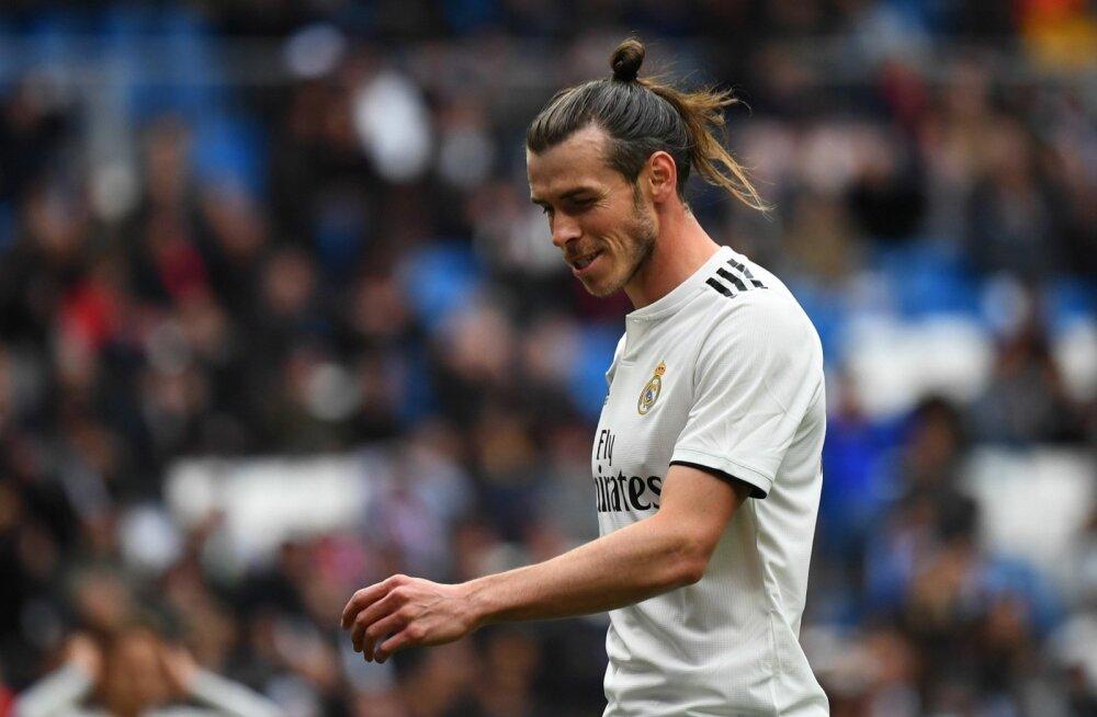 Gareth Bale Madridi Reali särgis.
