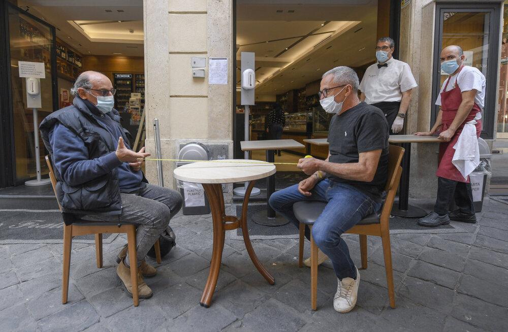 Itaalia lubab turistid riiki 3. juunist