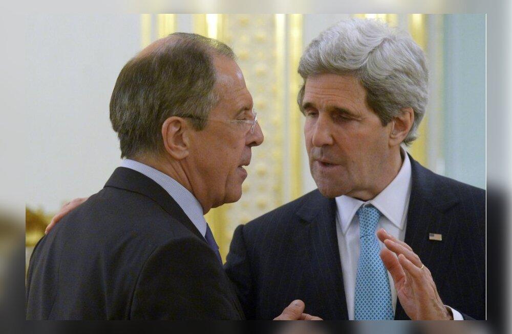 Kerry hoiatas Lavrovi, et Ukraina edasisel destabiliseerimisel on Venemaa jaoks täiendav hind