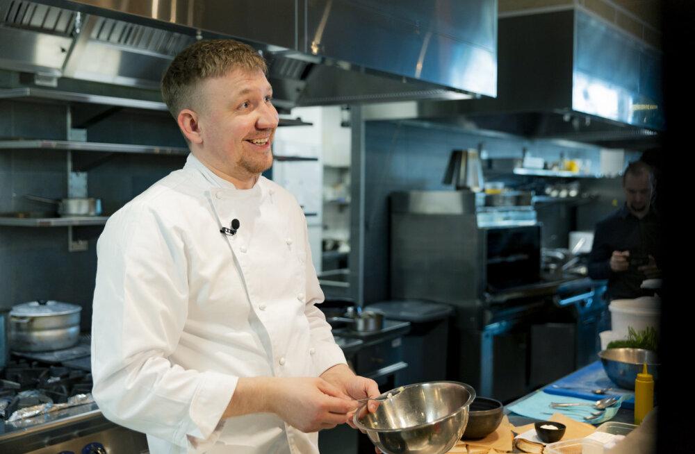 Tallinnas viibiv Peterburi parim kokk armastab musta leiba