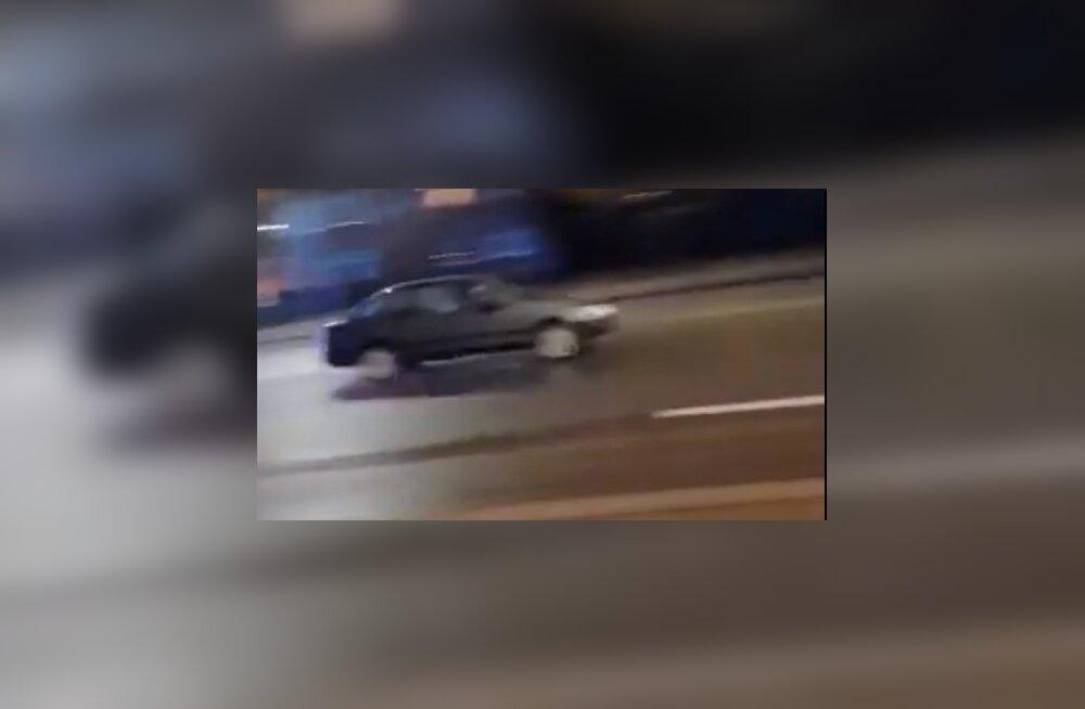 VIDEO | Tartus politsei eest põgenenud autojuhil oli narkojoove
